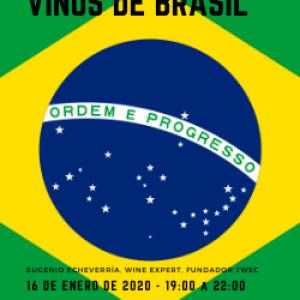 MASTERCLASS: VINOS DE BRASIL