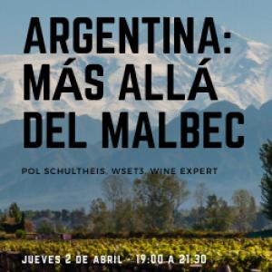 ARGENTINA, MÁS ALLÁ DEL MALBEC – ONLINE