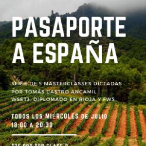 PASAPORTE A ESPAÑA – ONLINE