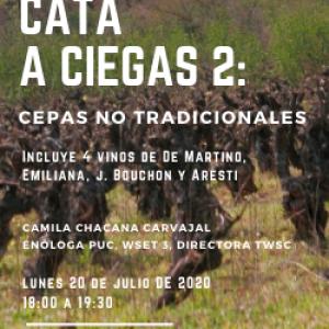 CATA A CIEGAS: CEPAS NO TRADICIONALES