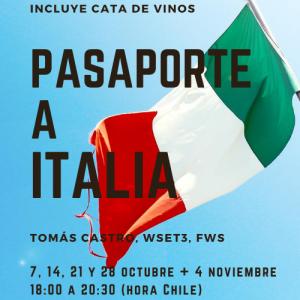 PASAPORTE A ITALIA – ONLINE