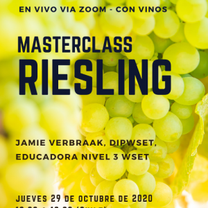 MASTERCLASS RIESLING – ZOOM